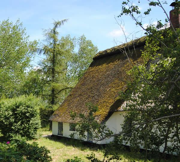 Reetdachhaus mit Obstgarten & Galerie am Ufer der Oste | Reetdach ...